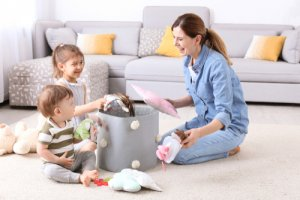 How do you keep your house clean with a toddler