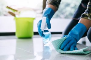 Is bleach an effective cleaning agent for the coronavirus disease?