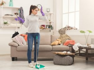 How do you keep your house clean and safe?