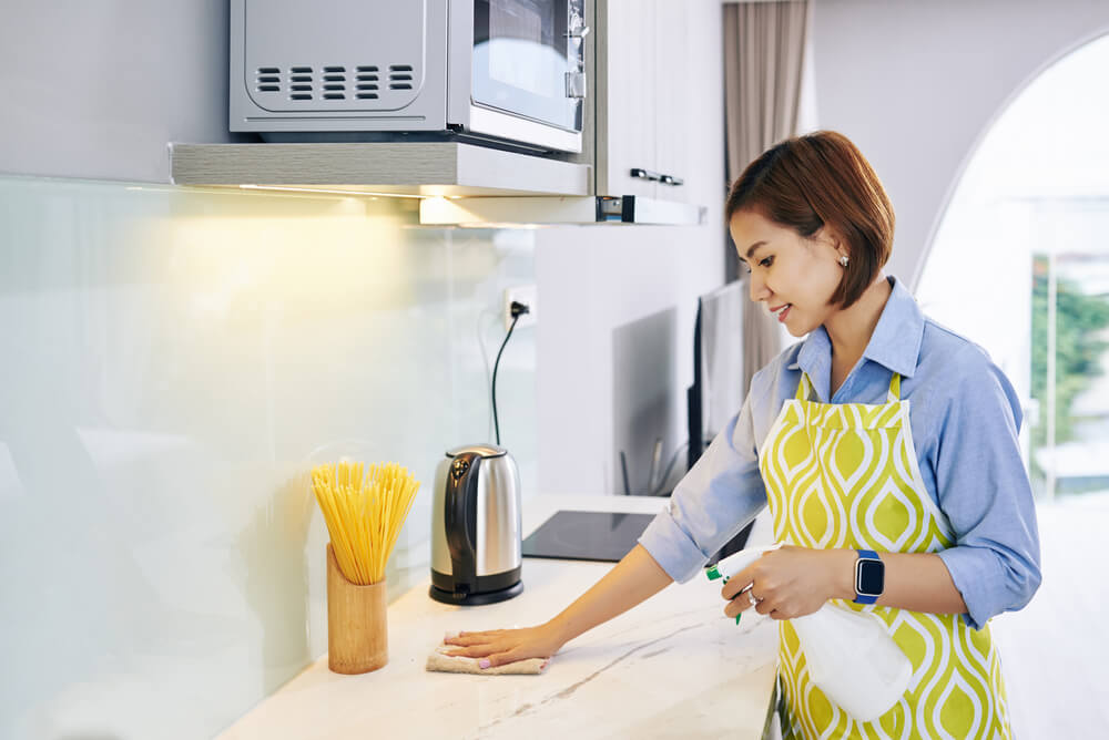 What is a food-safe disinfectant